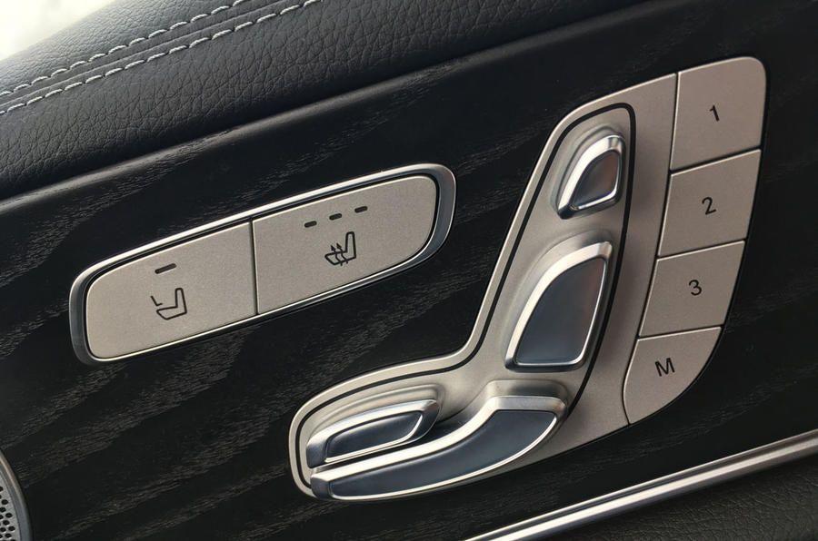 Mercedes-Benz seat controls