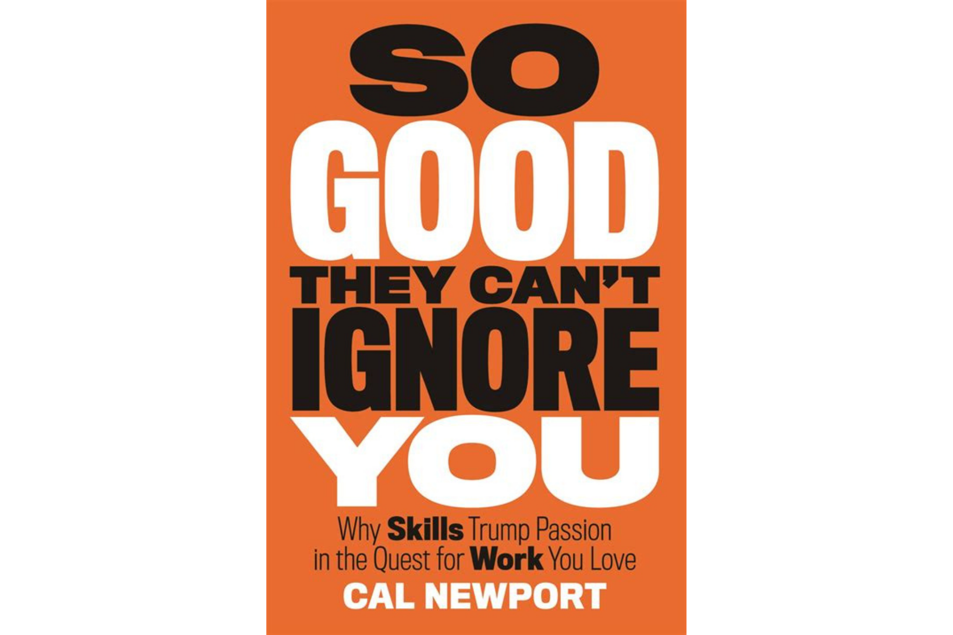 So Good They Can't Ignore You by Cal Newport